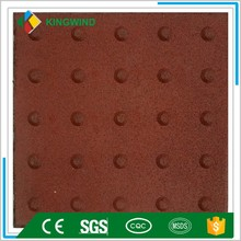Rubber Blind tracks bricks