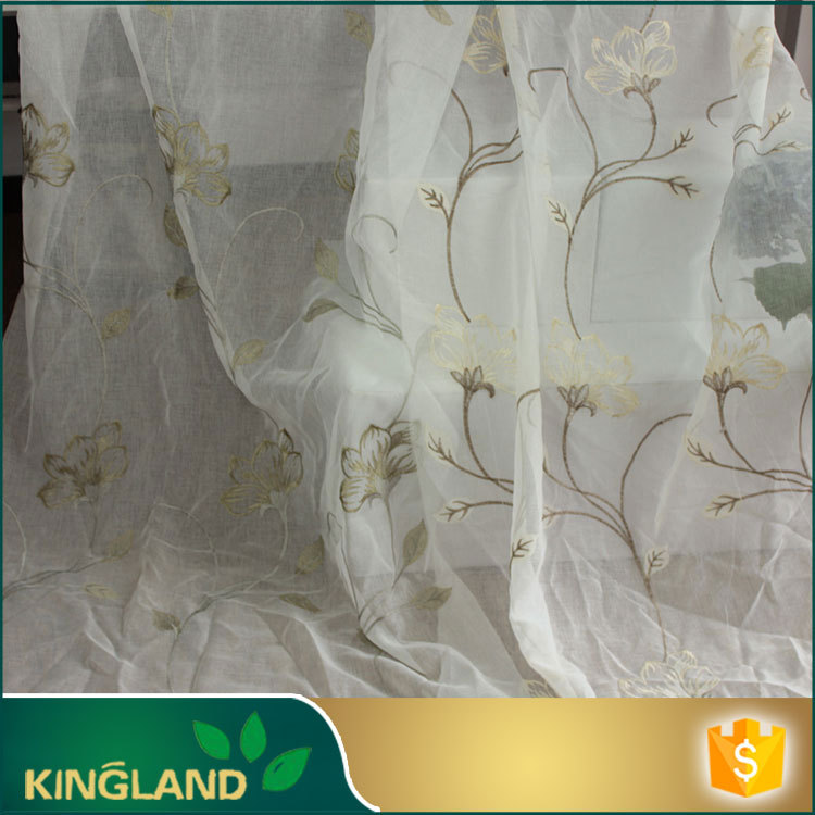 Top quality Competitive price Luxury Multi-color leaf design curtain fabric