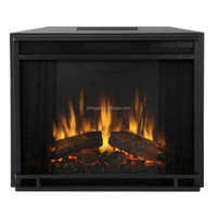 "23""new insert electric fireplace with mantel"