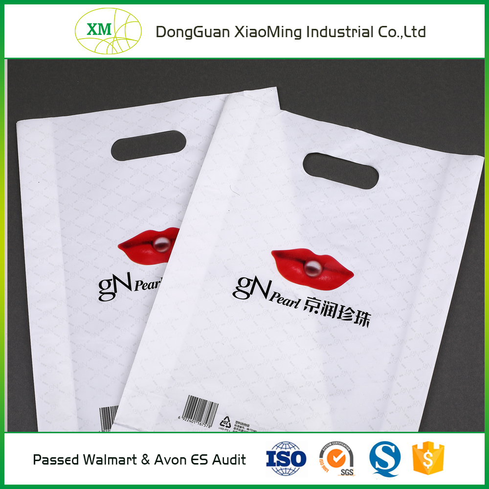 Virgin HDPE color as per customers' requirements recycled cheap plastic promotional shopping bag
