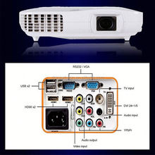 New arrival 1080P hdmi home theater video projector,multimedia usb laptop 3500 lumens good price led projector
