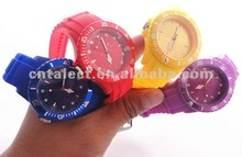 Promotional silicone ion sports band watch