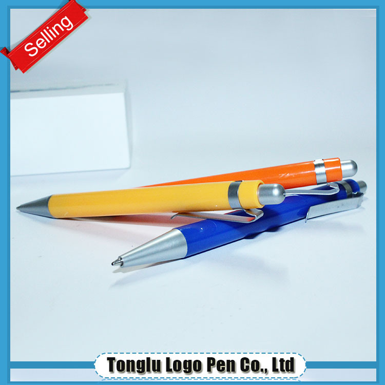 Novelty top sale customized unique shape ballpoint plastic pen