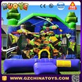 jumbo turtle bouncer Jumbo jumper ninja moonwalk inflatable
