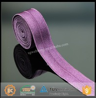 Factory supply 1.5cm folding elastic tape in good price