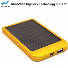 PowerGreen 2600mAH Solar Panel Power Bank Charger USB Waterproof for Mobile Phone