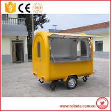 2016 big quantity supply china mobile food cart/used food cart for sale philippines