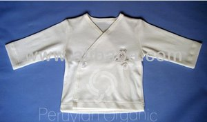 Organic cotton Baby Natural Kimono Jacket