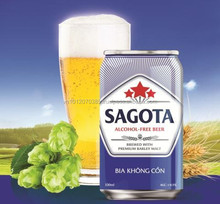 Vietnam Vegetarian Beer SAGOTA 330ml FMCG products - Halal beer