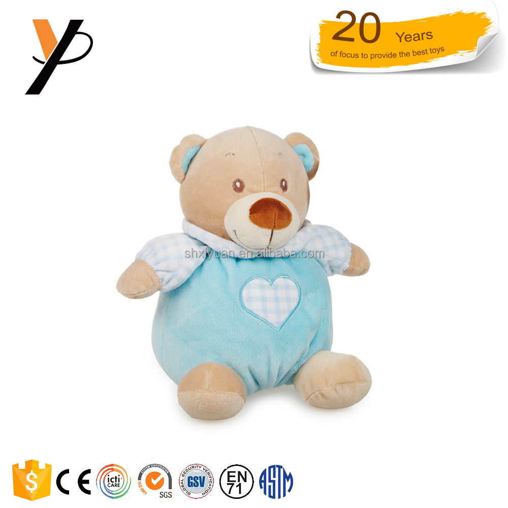 Huggable baby rattle toy plush baby toy