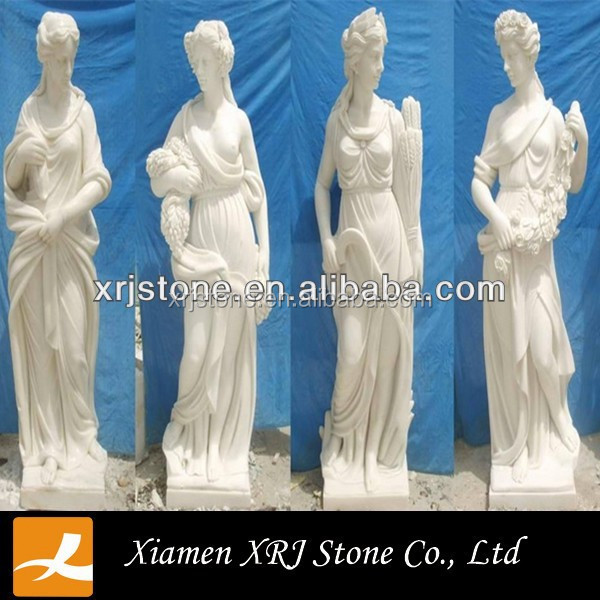 white marble roman statue good quality