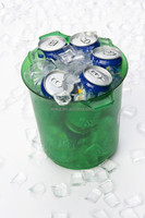 Plastic Beverage Cooler, Ice Basket, Beer Bucket Cooler