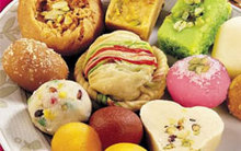 Sweets Or Mithai
