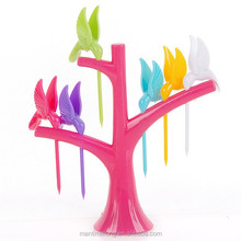 Vogue Home Decor Party birdie fruit fork fork plastic fork