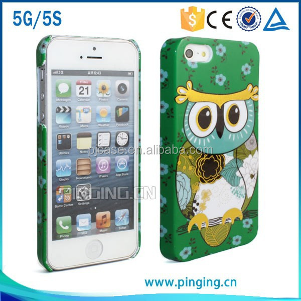 New product pc cell phone case for apple 5G, 3d sublimation hard case for apple 5G case
