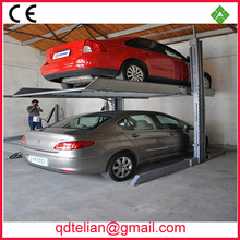 two floor carport/ double columns two deck parking garage/smart 2 post car stack