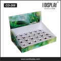 Paper Counter Top Display Box with holes for tube products