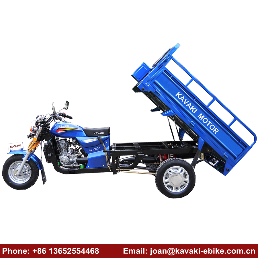 New Products 2018 3 Wheel Dirt Bike 150cc Displacement Tricycle Cargo Motorcycle Moped Prices in China