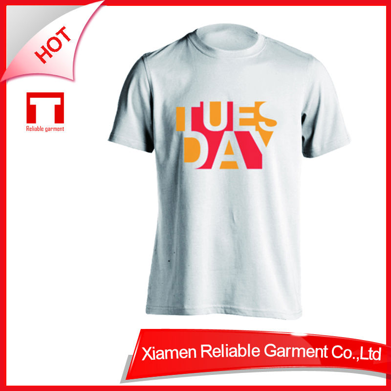 40S 100% cotton wholesale tee shirt printing company logo t shirts for men with OEM&ODM