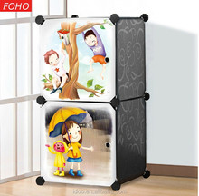 2 black magic cubes plastic wardrobe organizer for baby and children, custom various types of closet organizers