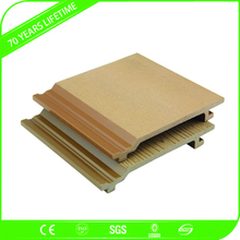 JFCG Wholesale Eco Wood Plastic Composite Exterior Wall Panel