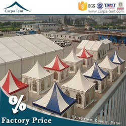 2015 fashion trade show tent, garden party pagoda marquee