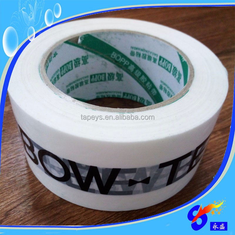 packaging tape string printed tape