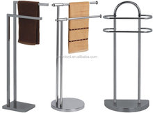 Stainless Steel Free Standing Bath Towel Holder