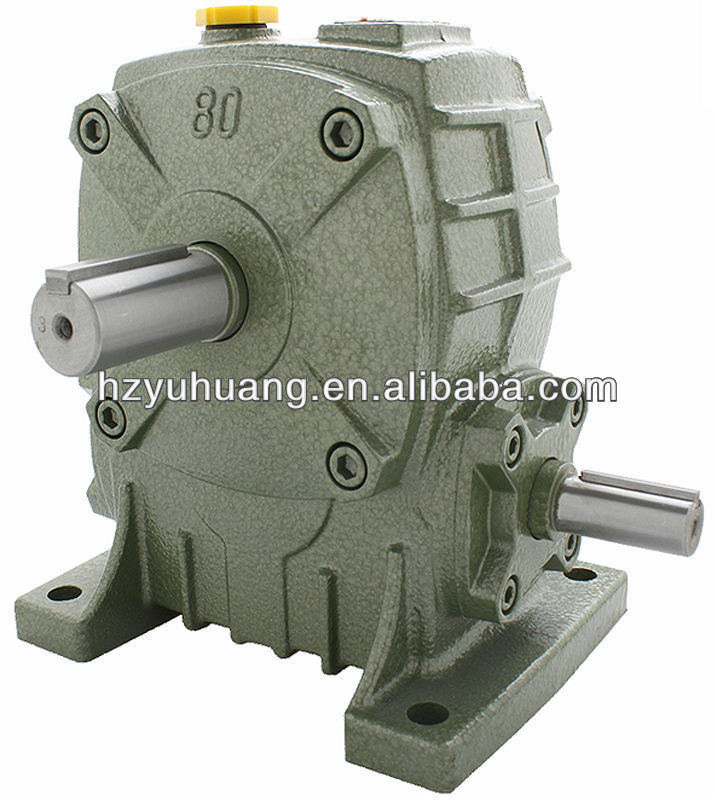 WPA Single Worm Gear box and Speed Transmission for motor