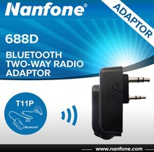Nanfone 688D none cable connection bluetooth ham radio adaptor for Kenwood
