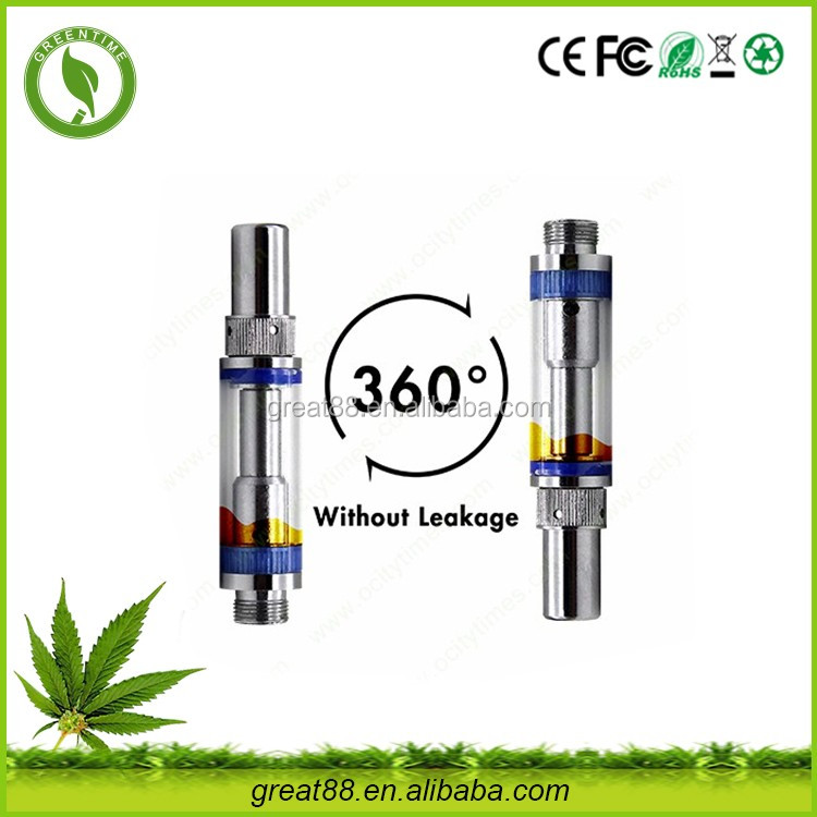 No leak dual coil disposable cbd oil 0..5/1.0 ml printer ink cartridgemicro needle cartridge supplier