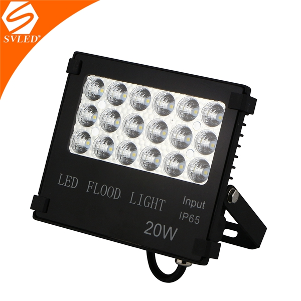 high power newest model MeanWell driver 20w led outdoor flood light Factory Price P65 Outdoor 20w led outdoor flood light
