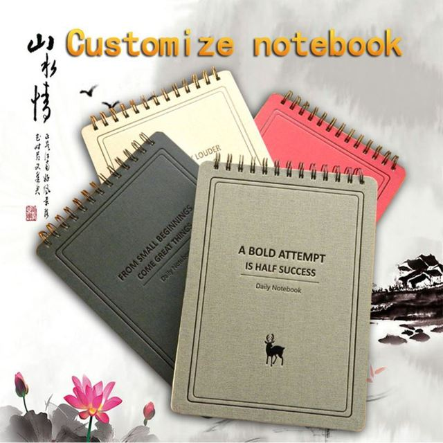 Portable Spiral Notebook With Ballpen Calculator For Promo Gifts 2015 Back To School