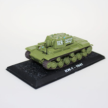 1:72 scale KV-1-1941 die cast model tank