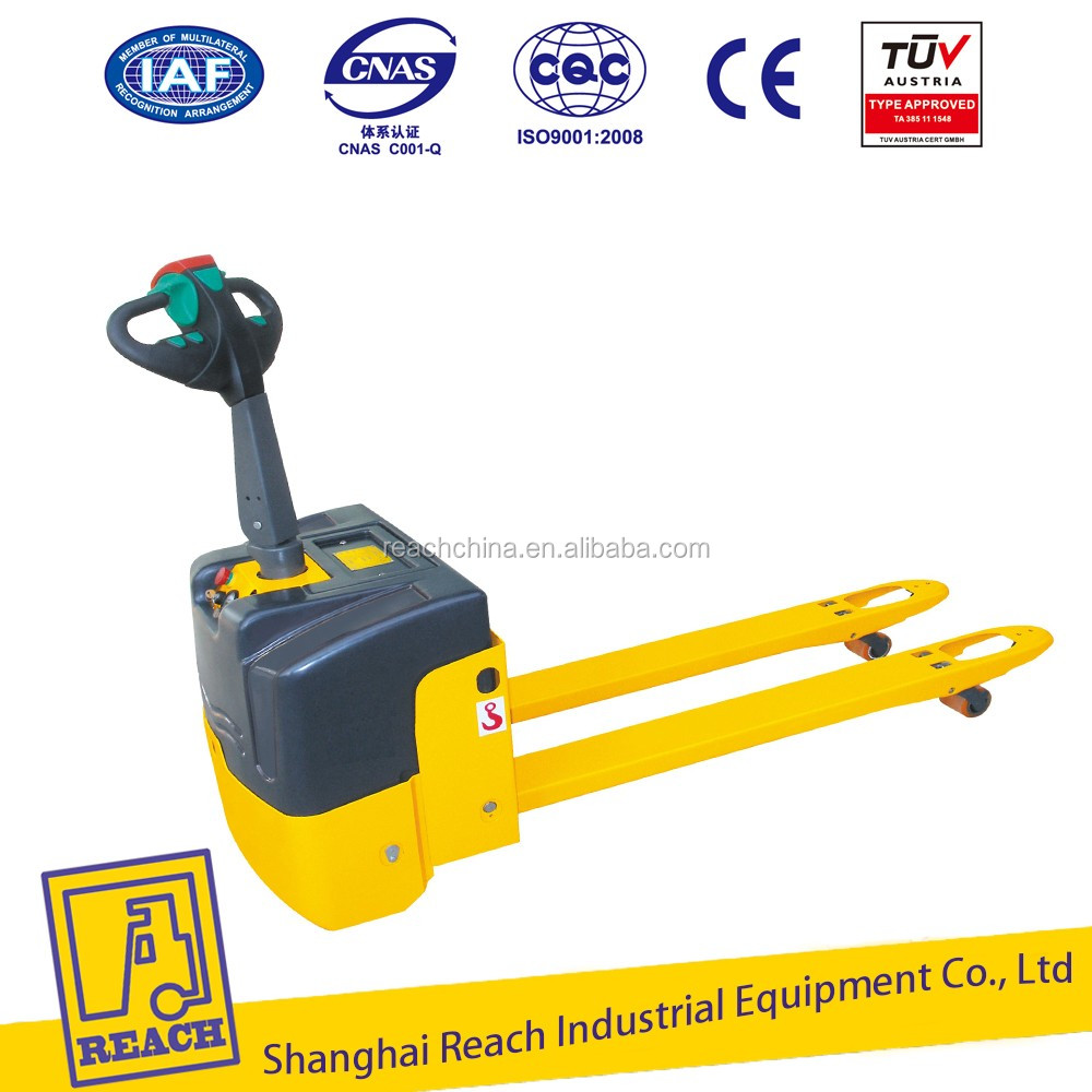 1400kg Load Capacity Electric Power High Lift Pallet Truck Pallet Jack