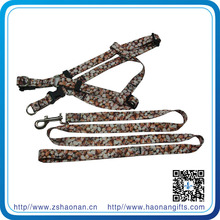 dog nylon leash 1.8 /2.0 meter with print logo on two sides