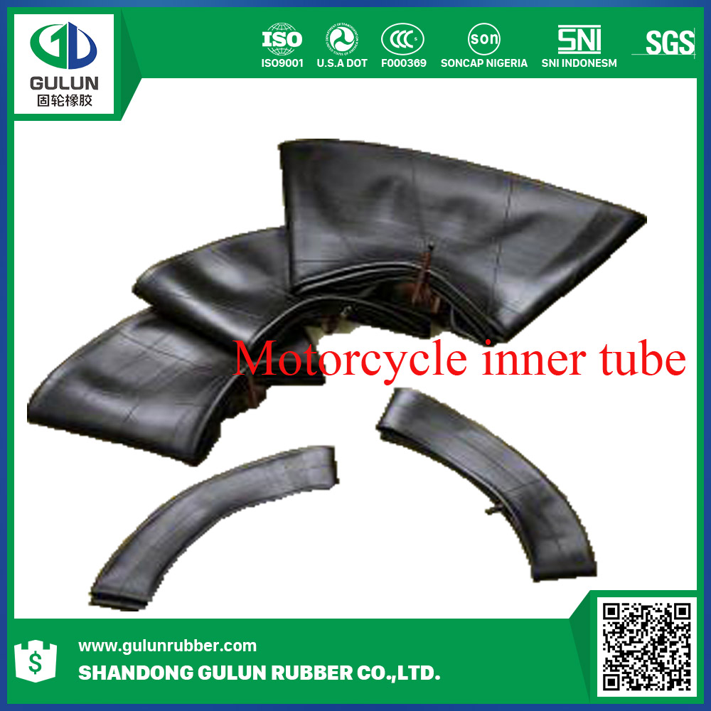 China motorcycle inner tube /rubber inner tubes material