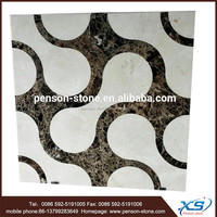 Exclusive waterjet marble tile 60x60 and italian marble stone flooring tile