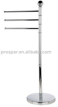 Bathroom Accessories of Mental Vertical Towel Rack