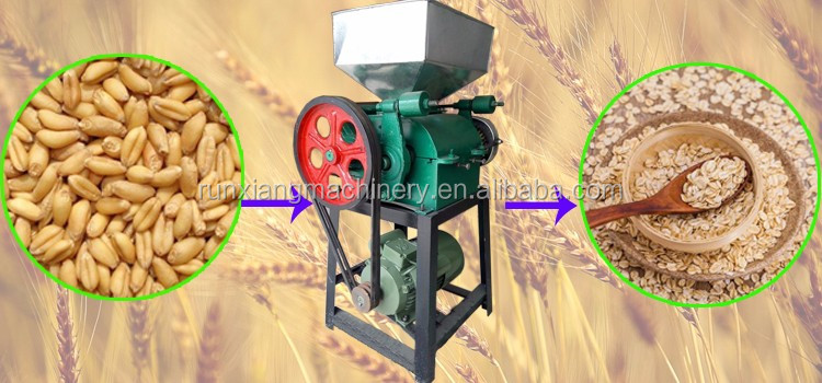 SGS approved cereals breakfast rice flake machine / corn flakes machine