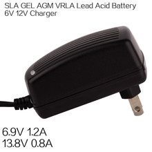 6V 12V 1.2A 2A 4A Lead Acid Battery Charger for Electric bike,bicycle,scooter,tricycle,wheelchair