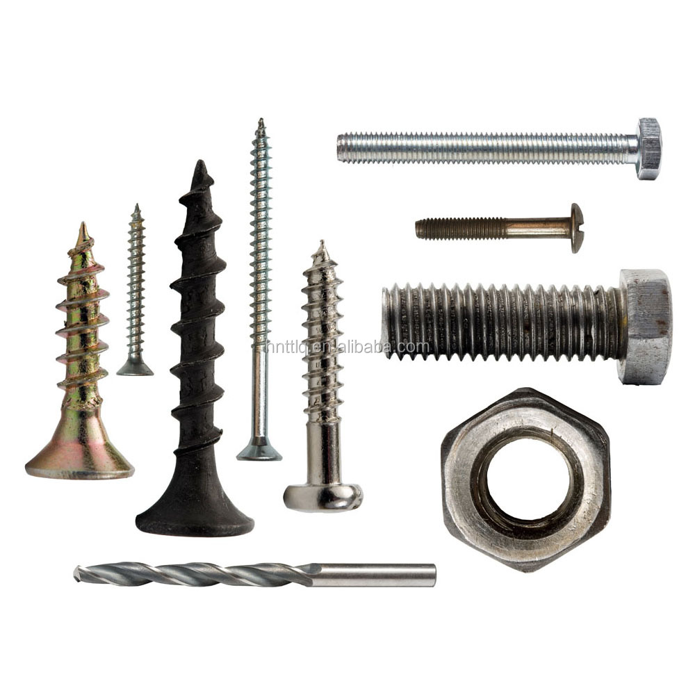 black plated bolts and nuts&different kinds of bolts and nuts&price of galvanized bolt and nut