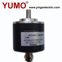 YUMO ISC5208 52mm 8mm Auto type CNC Machine Solid shaft encoder optical price motor sew 12v encoder sensor of servomotor sensor