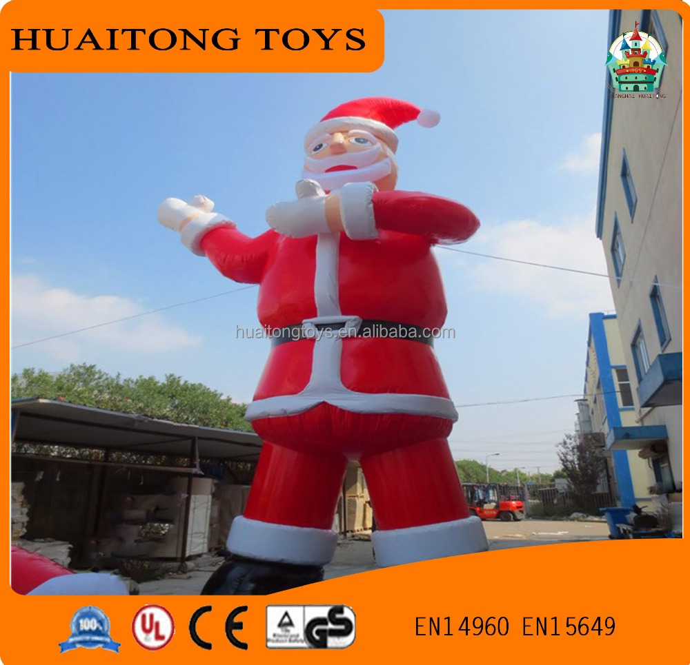 customized size advrtising inflatable christmas old man christmas decor for sale
