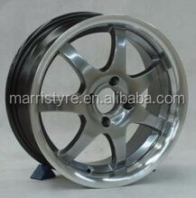 silver finishing alloy wheels for 15'' 17'' 18'' inch