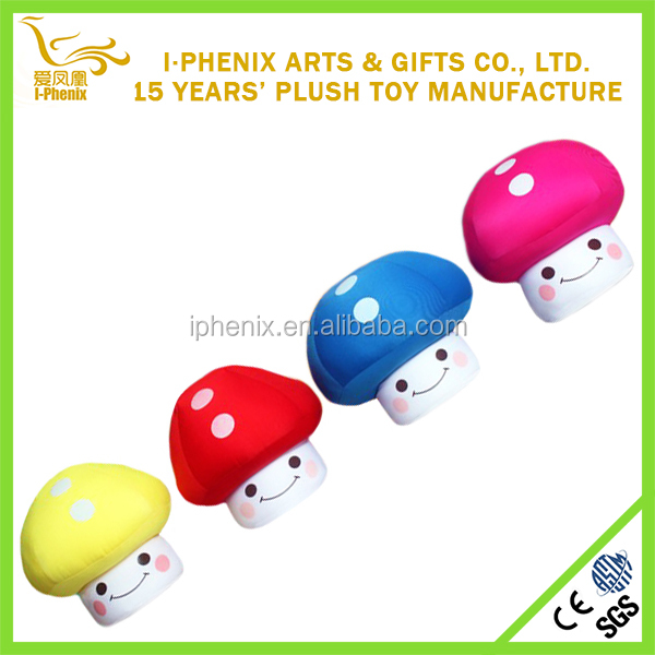 Plush mushroom toy stuffed mushroom for Christmas decoration