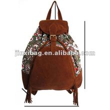 2013 New style best selling fashion cute canvas backpack for teens