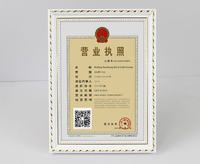 Classic swing sets certificate photo frame of high quality/Large wood photo frame factory of China