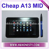 7inch external 3G mid android4.0 tablet pc big battery