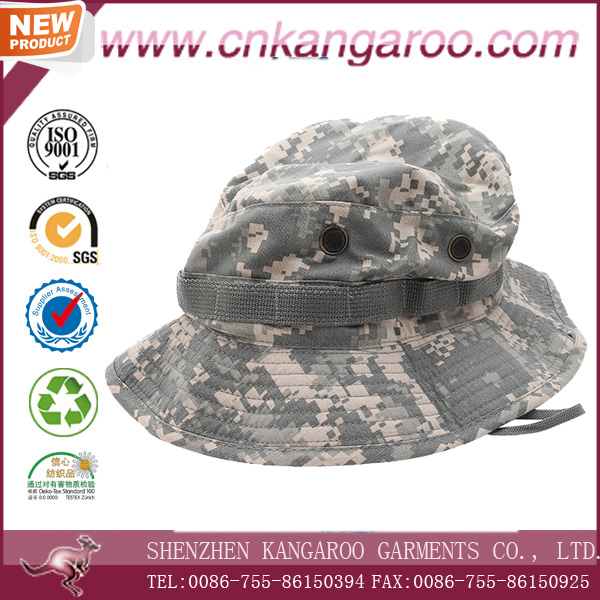 Free Sample Digital Camouflage Military Boonie Hats